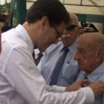 Condecoran a veterano peruano de la Segunda Guerra Mundial