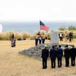 Veterano de 102 años de edad asiste a ceremonia conmemorativa en Iwo Jima