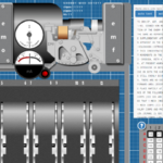 Modelo virtual de la Codificadora alemana Lorenz SZ42