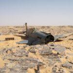 El P-40 encontrado en el desierto en 2012 aparentemente sigue en Egipto