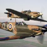Cancelan vuelo de bombardero Lancaster, cazas Spitfires y Hurricanes por problemas en un motor