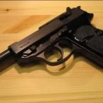 En entrega de armas ilegales reciben en Inglaterra una Walther P38 de la Wehrmacht alemana