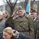 Desfile en Letonia de los veteranos Legionarios de las Waffen-SS