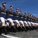 73º Desfile conmemorando el fin de la Segunda Guerra Mundial en Rusia