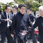 Okinawa conmemora el 73º aniversario de la batalla al final de la Segunda Guerra Mundial