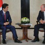 Abe y Putin conversan sobre el tratado de paz de la Segunda Guerra Mundial