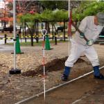 En Hiroshima excavan el suelo a 300 m de donde explotó la bomba atómica