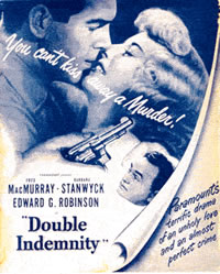 Poster de Double Indemnity